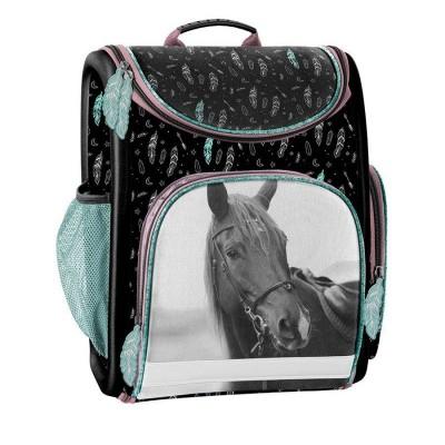 Luxusní školní batoh aktovka i pro prvňáčky Kůň