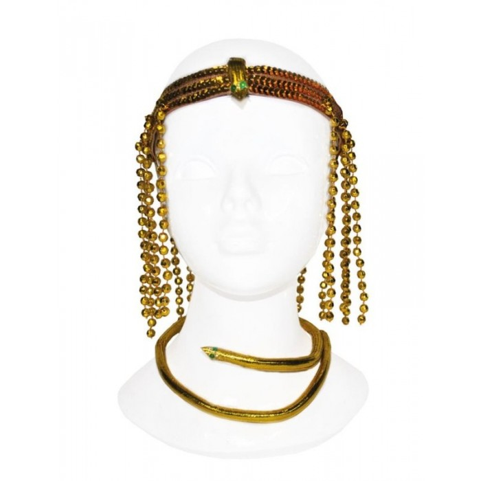 Koruna a náhrdelník - Egypt