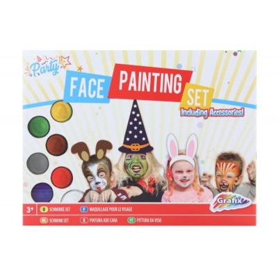 Sada malování na obličej s doplňky