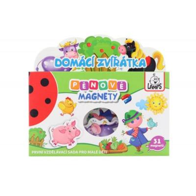 Dětské pěnové magnety Domácí zvířátka