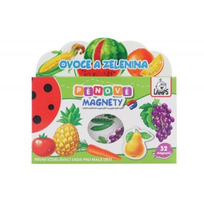 Dětské pěnové magnety Ovoce a zelenina