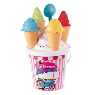 Sada na písek kýblík a zmrzlina