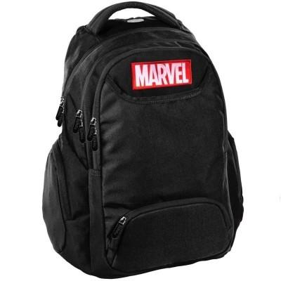 Školní batoh tříkomorový Marvel černý