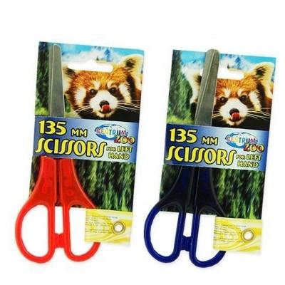 Dětské nůžky pro leváky 13,5cm - 2 barvy
