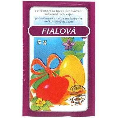 Velikonoční barvy na vajíčka 5g fialová