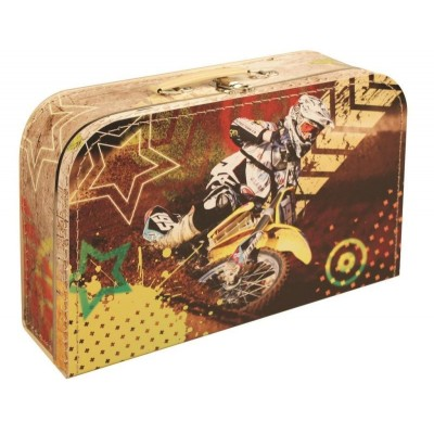 Dětský kufřík Motorkář