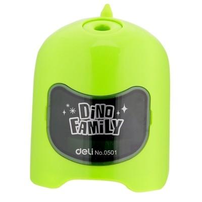 Ořezávátko na baterie Dino zelené