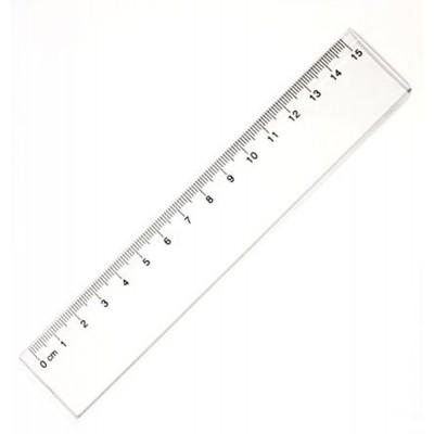 Pravítko plastové 15cm