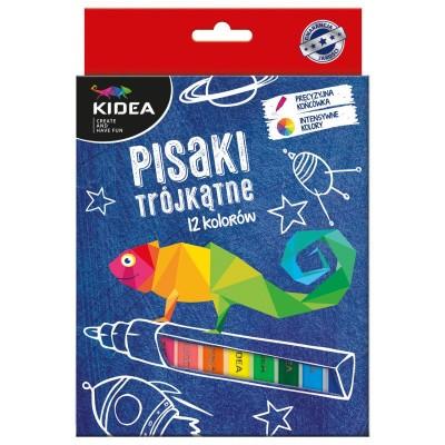 Fixy trojhranné 12 barev
