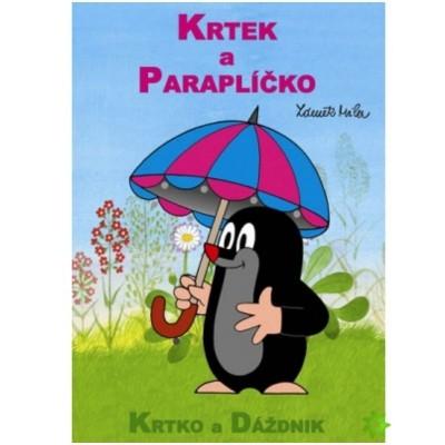 Omalovánky Krtek a paraplíčko