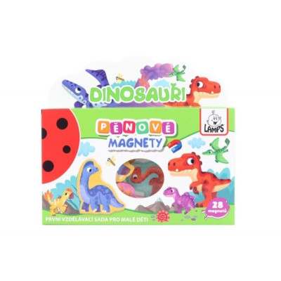 Dětské pěnové magnety Dinosauři