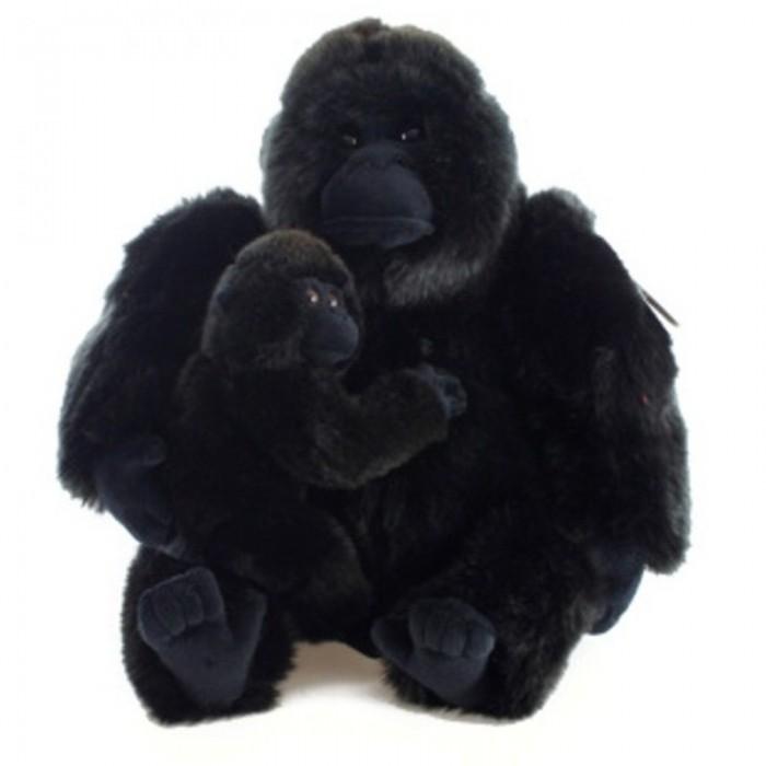 Plyšová Gorila s mládětem eco-friendly
