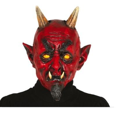 Gumová maska Čert