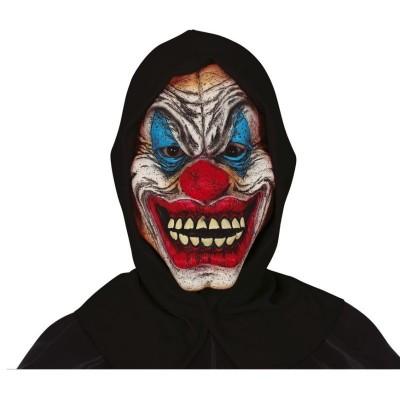 Maska Horor šílený klaun s kapucí