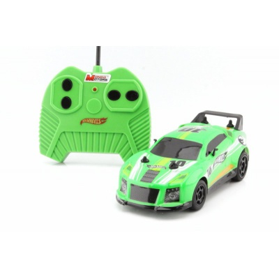 RC Hot Wheels model auta na dálkové ovládání zelený 1:28