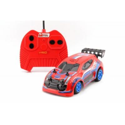 RC Hot Wheels model auta na dálkové ovládání červený 1:28