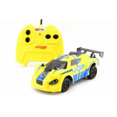 RC Hot Wheels model auta na dálkové ovládání žlutý 1:28