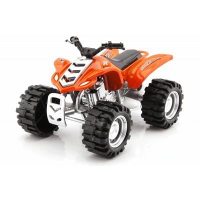 Model čtyřkolka buggy Oranžová