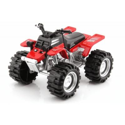 Model čtyřkolka buggy Červená