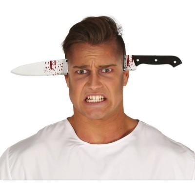 Čelenka Krvavý nůž v hlavě 35cm
