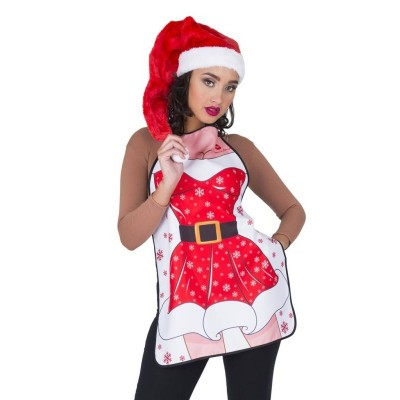 Vánoční zástěra dámská