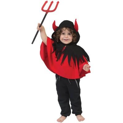 Dětský kostým Čertík pončo