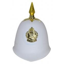 Policejní helma bílá