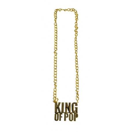 Náhrdelník - King of Pop