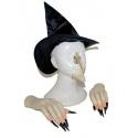 Sada čarodějnice - prsty, klobouk, nos, brada