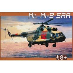 Vrtulník Mil Mi-8 Sar 1:72 Směr plastikový model ke slepení