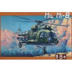 Vrtulník Mil Mi-8 War 1:72 Směr plastikový model ke slepení
