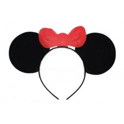Čelenka - uši s mašlí myška