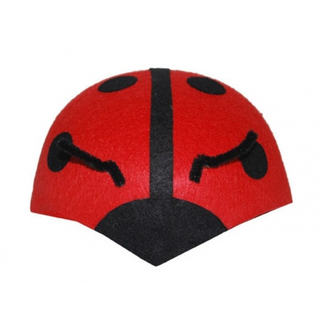 Čepice klobouček beruška