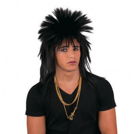 Paruka punk černá