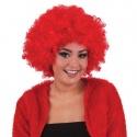 Paruka afro červená