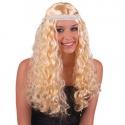 Paruka blond anděl s čelenkou