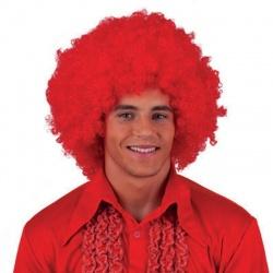 Paruka maxi afro - červená