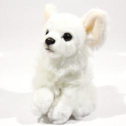 Plyšová Čivava - bílá