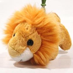 Plyšový přívěšek - klíčenka Lev