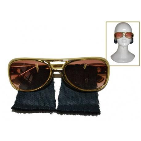 Brýle Elvis s kotletami