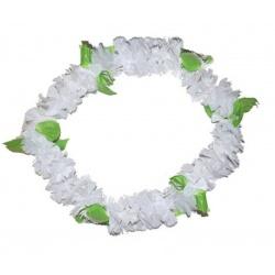Květinový věnec - bílo zelený