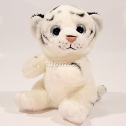 Plyšový Tygr - bílý