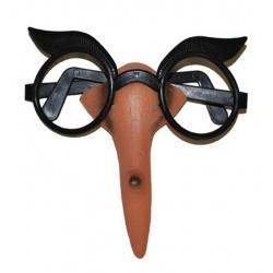 Brýle s nosem čarodějnice