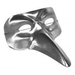 Škraboška maska benátská - dlouhý nos