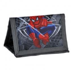 Textilní peněženka se šňůrkou - Spiderman