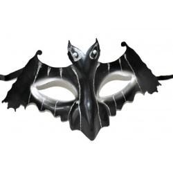 Škraboška maska netopýr