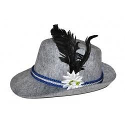 Německý klobouk šedý