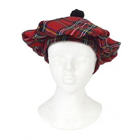 Skotská čepice - baret