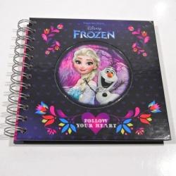 Notes zápisník Frozen fialový