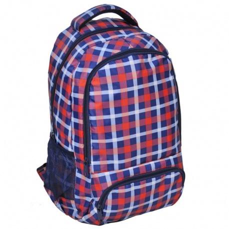 Studentský batoh braška káro